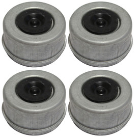 "5.2k Trailer Axle Hub/Dust/Grease Cap - 5200 lb capacity - 2.44"" - (4 Pack)"