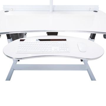 Ergonomic Keyboard Arm with Tray