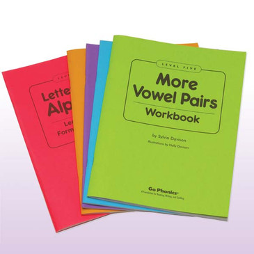 Set of 5 Workbooks Consumable