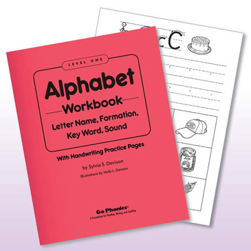 Workbook Lv1 Alphabet, consumable