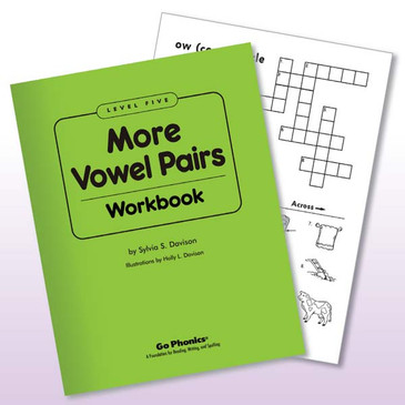 Workbook Lv5 More Vowel Pairs consumable