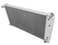 1977-1984 30 1/2 Inch Core GM Champion 3 Row Core Alum Radiator