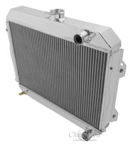 1971 72 73 74 Toyota Corolla Champion 3 Row Core Alum Radiator