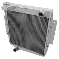 1969-1970 Datsun Fairlady Champion 3 Row Core Alum Radiator
