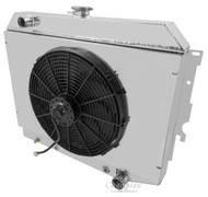 4 Row With Single Electric Fan Shroud