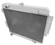1966 67 68 69 Dodge Charger Champion 3 Row Core Alum Radiator CC1638