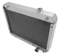 1962 63 64 65 Chevrolet Nova Champion 3 Row Core Aluminum Radiator