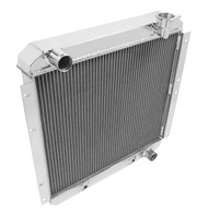 1958-1980 Toyota Land Cruiser Champion 2 Row Core Alum Radiator