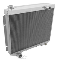 1957 58 59 Ford Champion 3 Row Core Alum Radiator