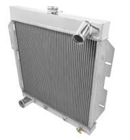 1955 56 57 Ford Thunderbird Champion 2 Row Core Alum Radiator