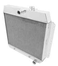 1949 50 51 52 53 54 Chevrolet Champion 2 Row Core Alum Radiator
