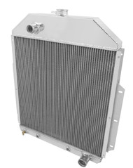 1942-1952 Ford Truck with Chevy Conv 3 Row Core Alum Radiator