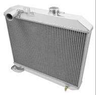 1941 42 43 44 45 46 47 48 49 50 51 52 Jeep Willys 3 Row Core Alum Radiator