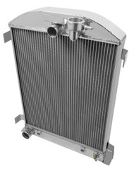 1932 Ford High Boy with Ford Config Champion 2 Row Core Alum Radiator