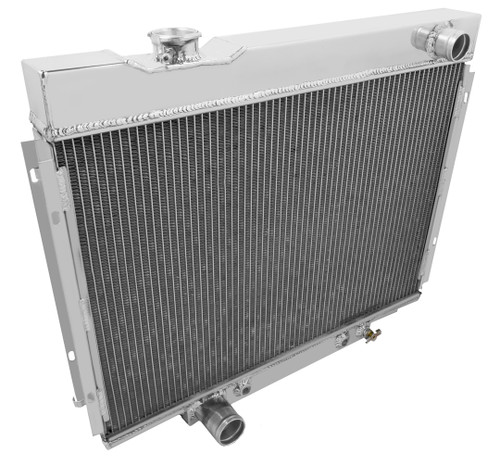 3 Row Radiator For 1968 Ford Mustang Performance-Cooling