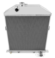 1946-1948 MERCURY CARS All Aluminum Radiator for Chevy Engine **FREE SHIPPING**