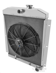 1952 1953 1954 Chevy C/K Series Pick Up Radiator + 16 Inch Fan