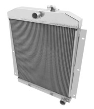 1947 1948 1949 1950 1951 1952 1953 1954 Chevy C/K Pickup 3 Row Radiator