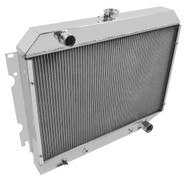 "1970 1971 1972 1973 1974 1975 Plymouth Duster Radiator Has 26"" Wide Core."