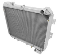 1983 1984 1985 Mazda RX-7 Champion Cooling PRO Series 3 Row Aluminum Radiator