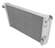 1987 1988 1990 Chevrolet Corvette Champion Radiator + Dual Electric Fans