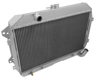 1974 1975 DATSUN 260Z Champion Cooling Pro Series Aluminum Radiator + Fans