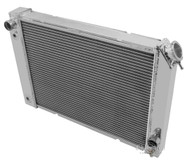 1984-1988 Pontiac Fiero Champion PRO 3 Row All Aluminum Radiator - Guaranteed!