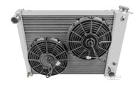 1967 1968 1969 Pontiac Firebird Aluminum Radiator + 2500cfm Electric Fan