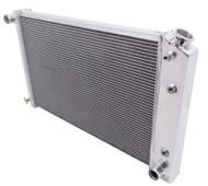 1986 1987 Chevy Monte Carlo 3 Row Aluminum Radiator + Dual Electric Fans