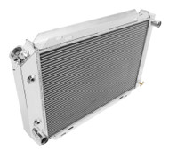 "1984-1992 Lincoln Mark VII Aluminum Radiator + 12"" Fans"