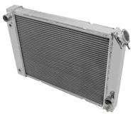 84 85 86 87 88 Pontiac Fiero 3 Row Aluminum Radiator