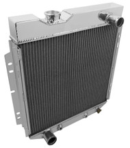 1960 1961 1962 1963 64 65 Ford V8 Falcon 3 Row Radiator