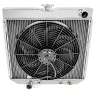 4 Row Radiator Plus 16in Fan Combo