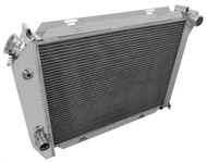 1969 1970 1971 FORD GALAXIE All Aluminum Radiator + Fan