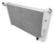 1973-1976 Chevrolet Corvette 3 Row Aluminum Radiator