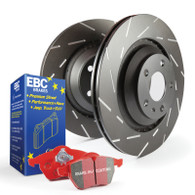 2004-06 EBC Stage 4 Kits Redstuff and USR rotors-REAR SET