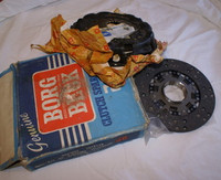 LAMBORGHINI MIURA CLUTCH KIT BORG BECK PLATE & NEW DISC