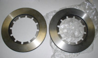 MASERATI KHAMSIN GHIBLI VENTER REAR BRAKE ROTORS PAIR!!! 21mm