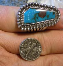 SDavidJewelry.com High Grade Bisbee Blue Turquoise