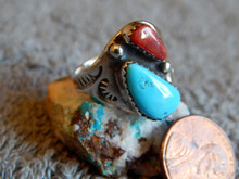 SDavidJewelry.com Mary Lincoln Coral and Turquoise