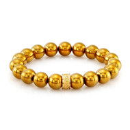 Gold Hematite Beads Bracelet