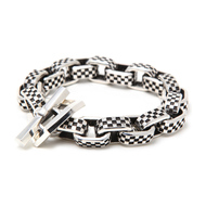 Checker Link Bracelet