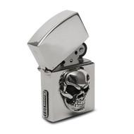 Sterling Silver Skull Cigar Lighter