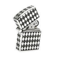 Diamond Pattern Lighter in Sterling Silver