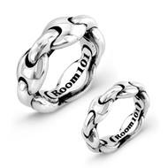 Sterling Silver Link Rings