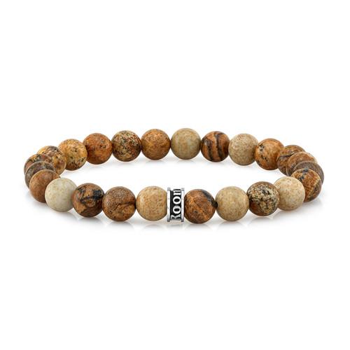 Room101 Agate Bead Stretch Bracelet