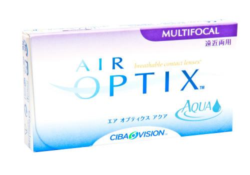 Air Optix Aqua Multifocal - 3 Pack Front