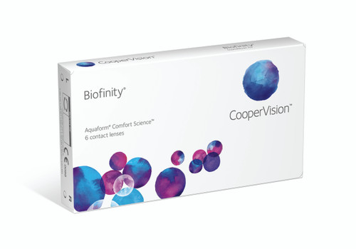 Biofinity - 6 Pack Front