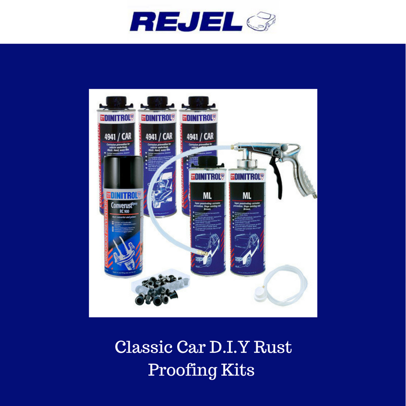 Dinitrol classic car rust proofing kit