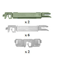 PEUGEOT 407 SALOON & ESTATE 2004 - 2010 WINDSCREEN CLIP KIT PACK OF 10